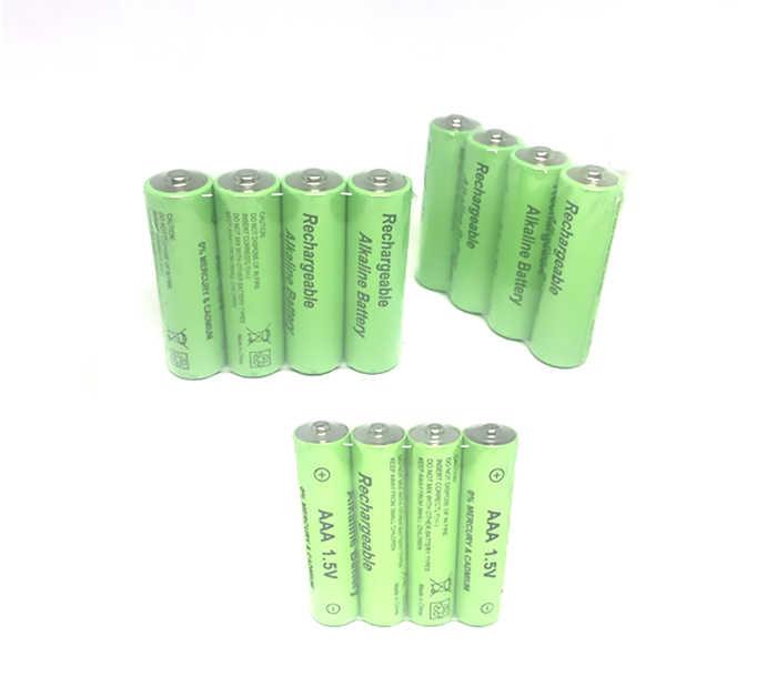 Cncool 8 шт./лот новый бренд AAA 1800 мАч щелочной 1,5 В аккумуляторная батарея для светодиодного фонаря Бесплатная доставка