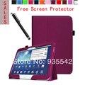 Ультратонкий фолио тонкий искусственная кожа стенд чехол обложка книги для Samsung Galaxy Tab 3 10.1 дюймов планшет P5200 P5210 ( PPL )
