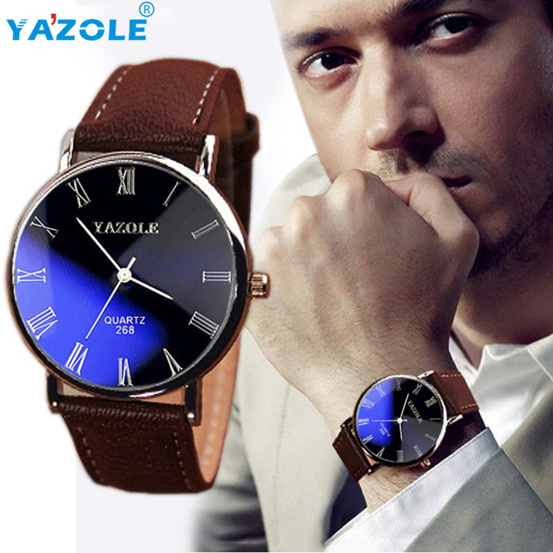 YAZOLE 2Pcs Wrist Watch Men Top Luxury Famous Wristwatch Male Clock Quartz Watch Hodinky Quartz-watch Relogio Masculino #A63