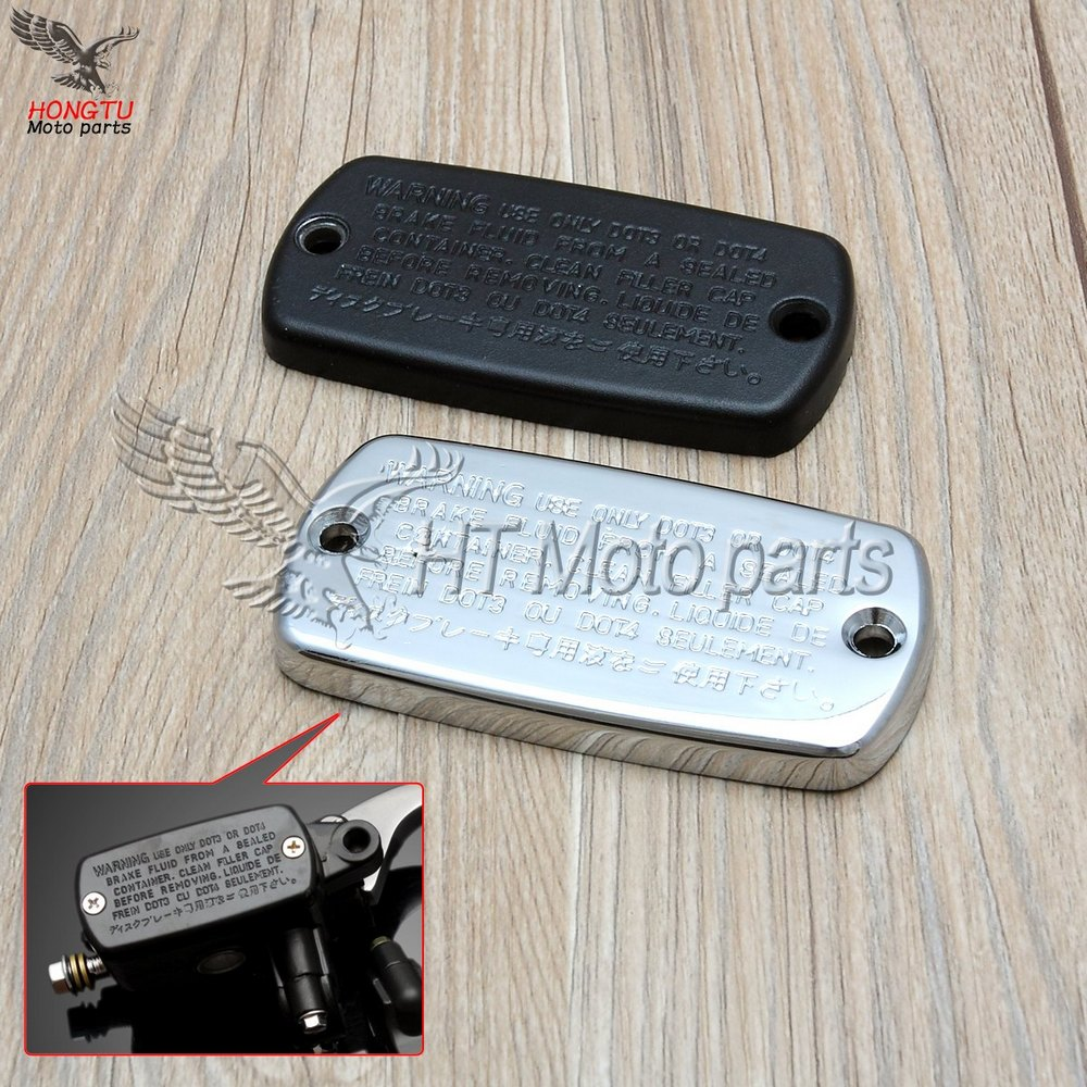 US $4 65 5% OFF|Motorcycle Clutch brake hydraulic master cylinder cover cap  For Honda CB400 CB750 CB1300 Steed 400 600 Manga Shadow 250 750-in Covers