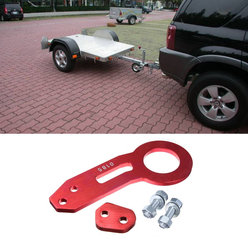 Online Shop Universal Rear Tow Hook Billet Aluminum Tow Hook Kit For Honda  CIVIC EG EK For Integra DC   Aliexpress Mobile