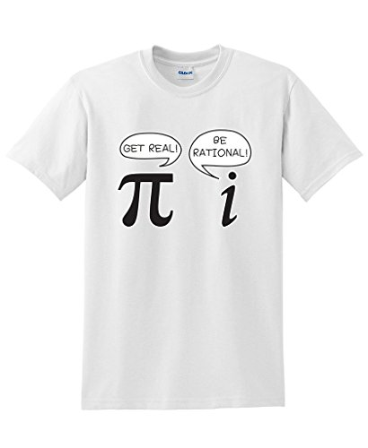 Get Real Be Rational Pi Funny Math Geek Sarcastic Adult Novelty Funny T Shirt Print T-Shirt Men Summer Style Fashion Top Tee