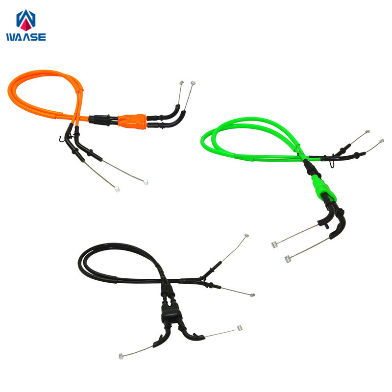 Aliexpress.com : Buy waase 2pcs Motorcycle Throttle Cable
