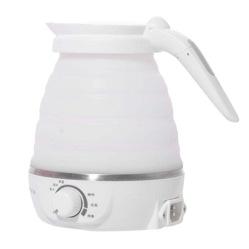 Electric Water Kettle Outdoor Portable Folding Electric Kettle Hotel Hot Water Bottle Pot 600ml For Outdoor Camping TravelElectric Water Kettle Outdoor Portable Folding Electric Kettle Hotel Hot Water Bottle Pot 600ml For Outdoor Camping Travel
