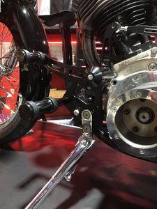 Image 5 - BIKINGBOY for Harley Davidson SOFTAIL 84 85 86 87 88 89 99 Forward Controls Rearsets Rear Sets Foot Pegs Rests Motorcycle Racing