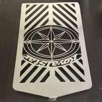 Radiator Grille Cover Stainless Protector Fit For Yamaha XVZ13 Royal Star Chrome