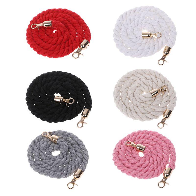Fashion DIY Shoulder Bag Repair Replacements For Decor Handle Braided Rope Handbag Strap