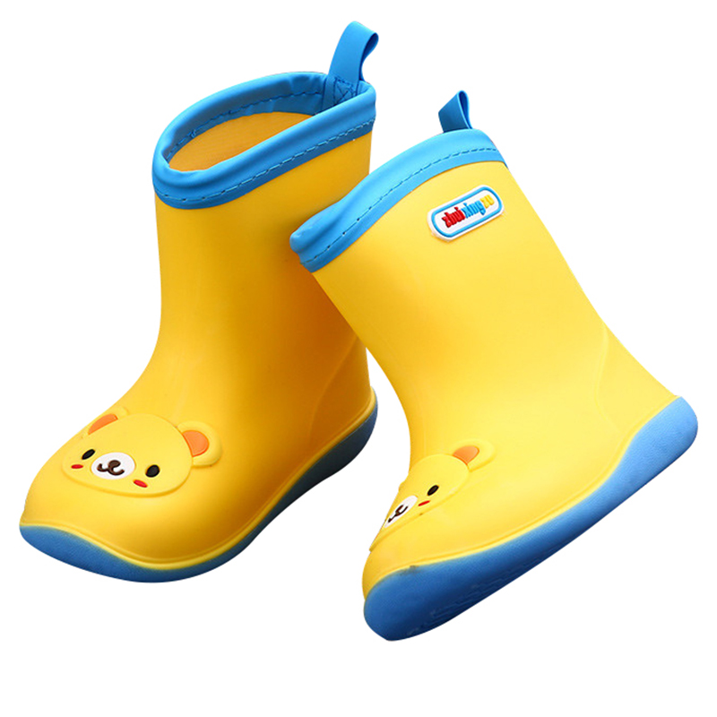 Fashion Summer Children Rain Boots Casual Shoes Outdoor Flats Spring Girls Boys Water Shoes Kids Anti-Skid Platform Zapatos