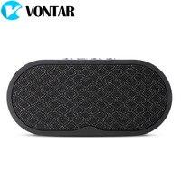 VONTAR F3 Mini Draadloze Draagbare Bluetooth Speaker en ingebouwde Microfoon Ondersteuning AUX TF voor Reizen Buiten Sport