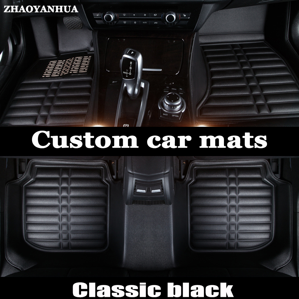 Rubber floor mats discovery 4 - Custom Fit Car Floor Mats For Mitsubishi Lancer Asx Pajero Sport V73 V93 3d Car Styling