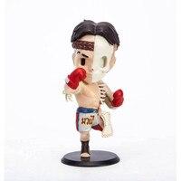 10CM Boxer Shazam Original Fake Sesame Street Anatomy Street Art Plastic Anniversary Action Figure Collectible Model Toy M40