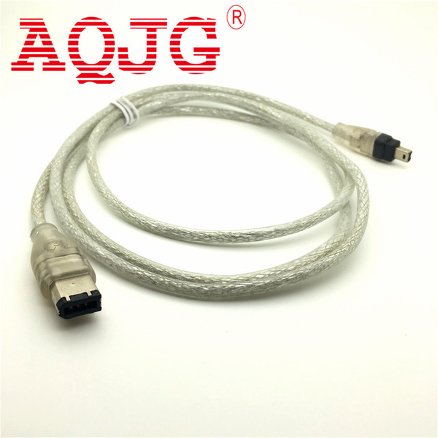 1.5M FireWire 4P/6P to 4Pin IEEE 1394 iLink Adapter Cable Cord Wire Lead High Speed