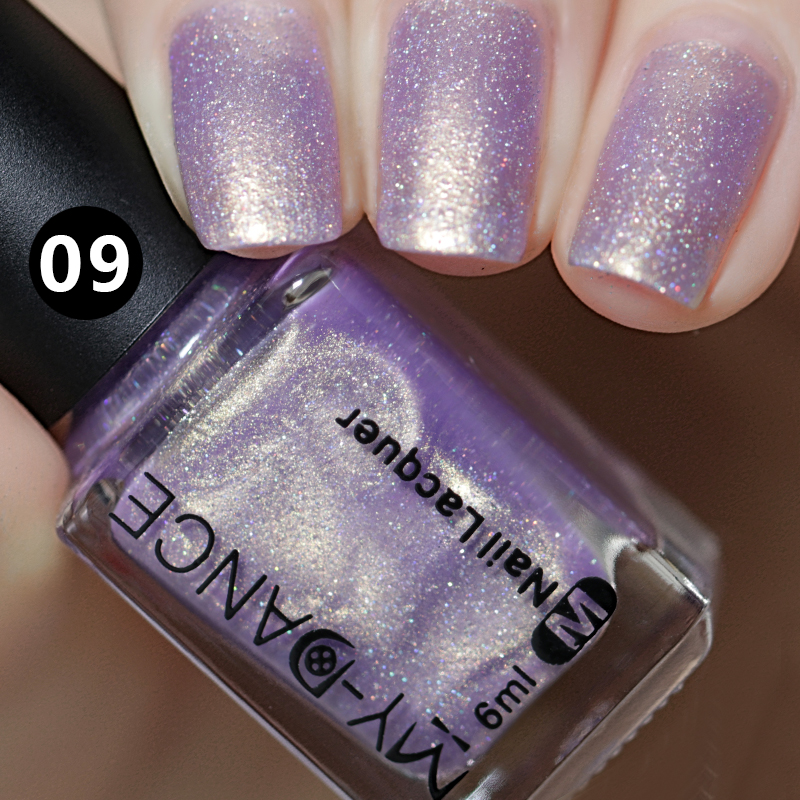 2018 New Shiny Shell Uv Nail Gel High Quality Purple Pink White