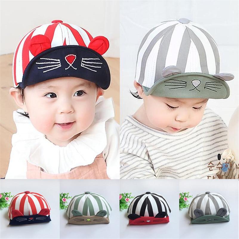 11ee4cb58567c Baseball Caps Baby Hats Boys Girls Children infant gorras head beanies  bebes kids Steeple Caps Photograph Prop 2017 NewBorn Baby-in Hats   Caps  from Mother ...