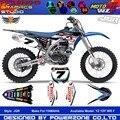 Пользовательские Команды Графики Фона Наклейки 3 М Индивидуальные Наклейки JGR YZF WR F 1996 до 2016 Motorcylce Dirt Bike MX Гонки части