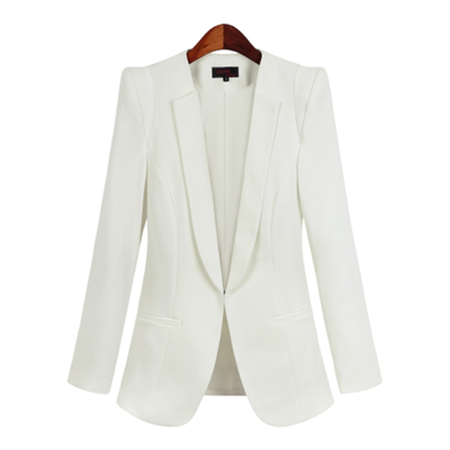 Aliexpress.com : Buy White Suit Women Slim Jacket Office 2017 ...