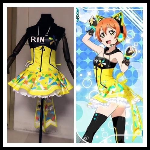 Love Live Cyber Idolized Maid LED Gaming Game Awaken All Members Minami Kotori Uniforms Cosplay Costume