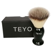 TEYO Synthetic Shaving Brush of Resin Handle With Gift Box Perfect for Wet Shave Safety Razor Double Edge Razor все цены