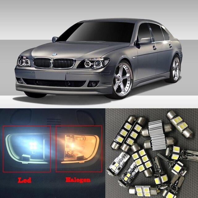20x White Canbus Car LED Light Bulbs Interior Kit For 2002 2008 BMW 7 Series