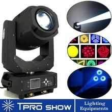 Hareketli kafa 200W LED lir ışın yıkama Spot işık prizma dönen Gobo disko ışık projektör makinesi gece kulübü ışıkları parti DJ Dmx