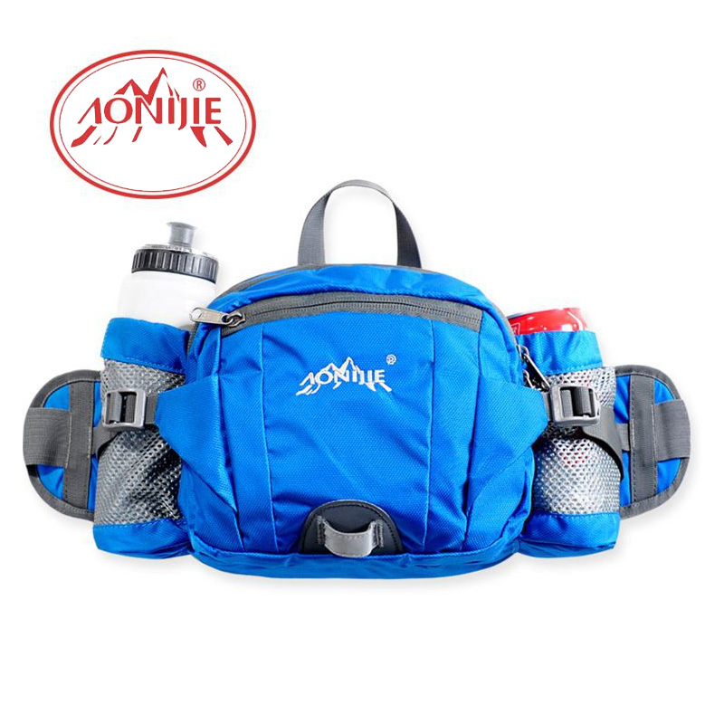 AONIJIE6L Outdoor Sports Leisure Riding Hiking Runnning Waist Bag Shoulder Bag E808 ...