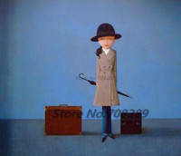 China The Famous Contemporary Painter Liu Ye Picture Abstract Canvas Painting Pome Aecor Art Wall Oil