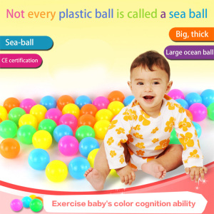 100pcs Colorful Balls 6CM Port