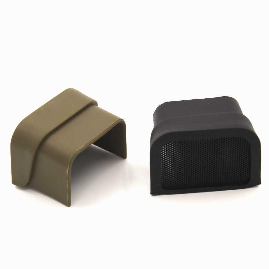 Taktis lingkup berburu Cover untuk Eotech Red Dot pemandangan 551 552 Protector Tan/Hitam