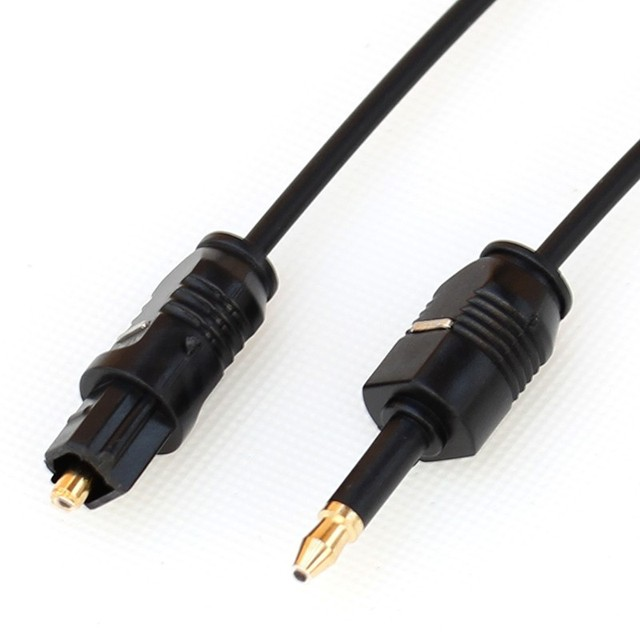 3.5mm Mini Toslink To Toslink Cable Digital Optical Audio connector on 3.5 mm adapter, audio y connector, 3.5 mm microphone jack, stereo audio connector, 3.5 mm power supply, mini audio connector, 3.5 mm cable, 3.5 mm headphone amplifier,