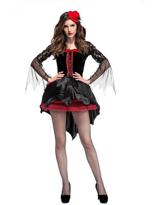 new sexy halloween cosplay vampire girl costumes costume - Halloween Costumes Vampire For Girls
