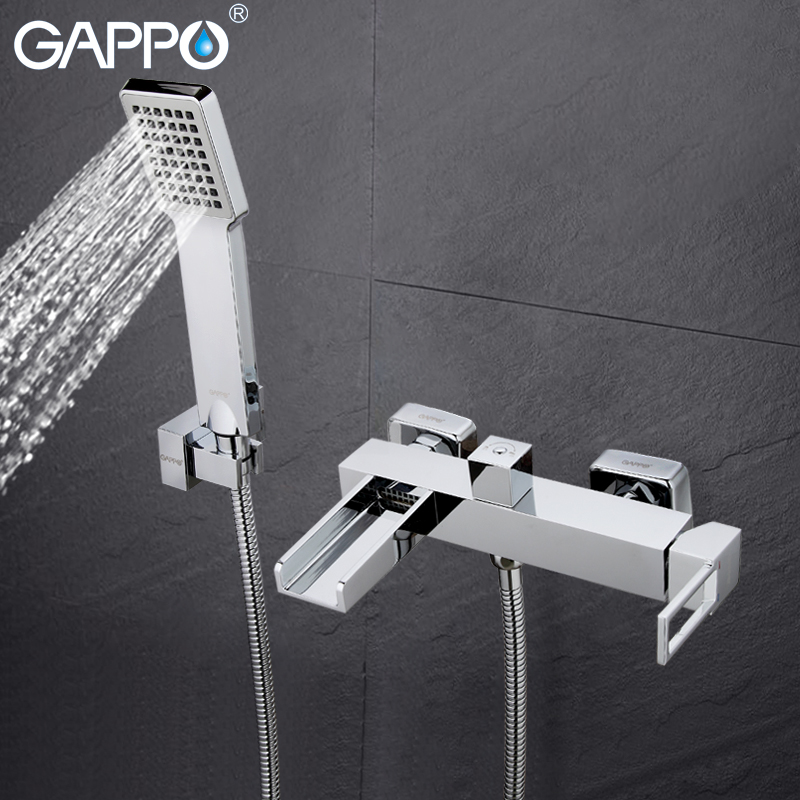 GAPPO Bathtub Faucets bathroom faucet bath mixer taps wall mount Brass bath tub faucets bath mixer sink faucet Sanitary Ware bath