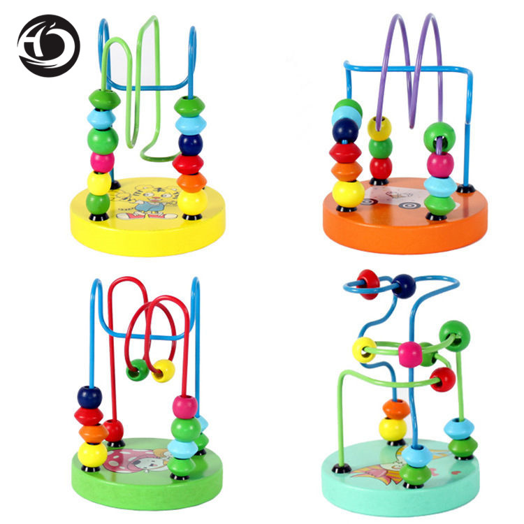 HanHan & JooJoo children's kids Educational toy beads game