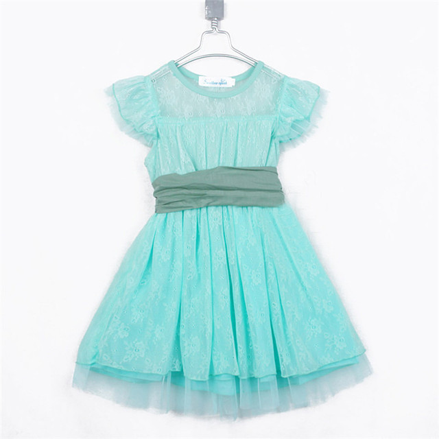 Summer Dream Paragraph Lace Girls Princess Clothing Baby Child ...