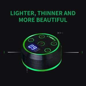 Image 5 - Aurora 2 Tattoo Netzteil Upgrade Digital LCD Neue Mini LED Touch Pad Power Liefert Für Tattoo Rotary Maschinen stift