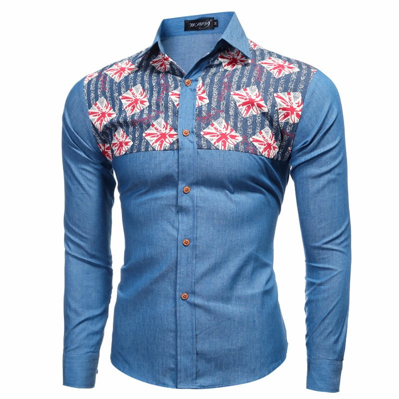 Online Get Cheap Flower Long Sleeve Shirt Men -Aliexpress.com ...