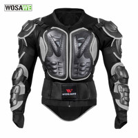 WOSAWE men motocross jacket men sports protective gear back support body armor clothing sport wear riding motorcycle jackets