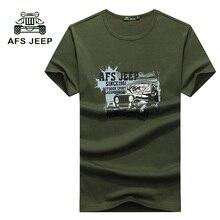 Afs jeep мужская футболки топы и тис футболка homme короткий рукава новые футболки мужская бренд clothing футболки высокого качества 30z