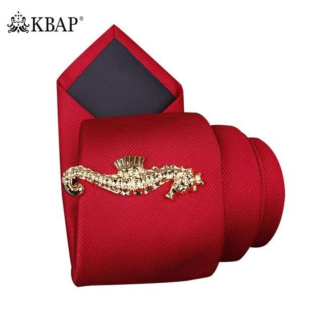 Men S Sea Horse Tie Bar Clip Gold 5cm Designer Animal Skinny Necktie Neck Clips Pins