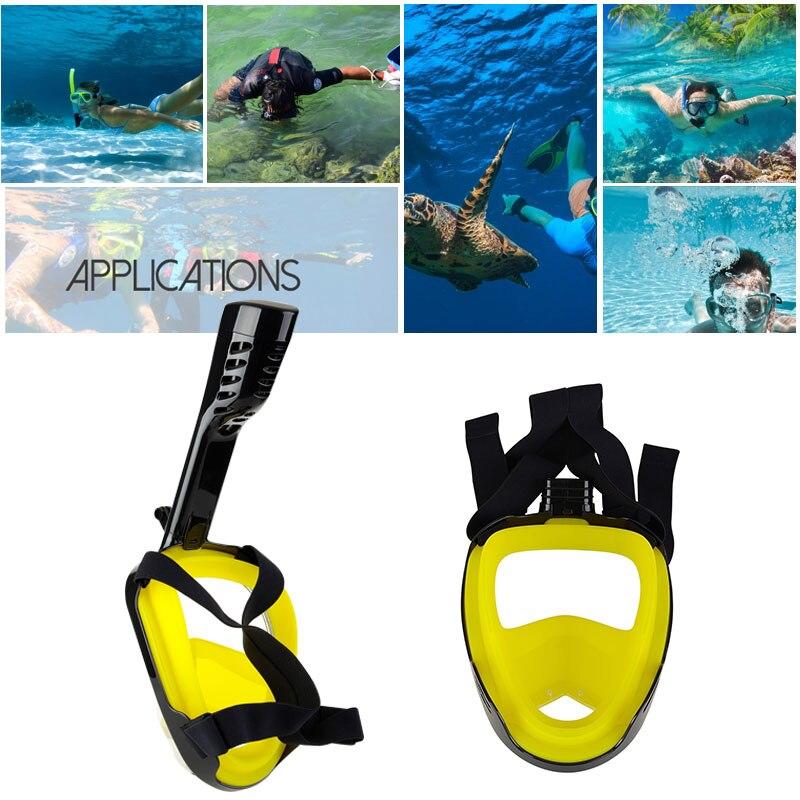Tuyau de reniflard Anti-buée Durable masque Submersible sec lunettes de natation masque de plongée livraison directe