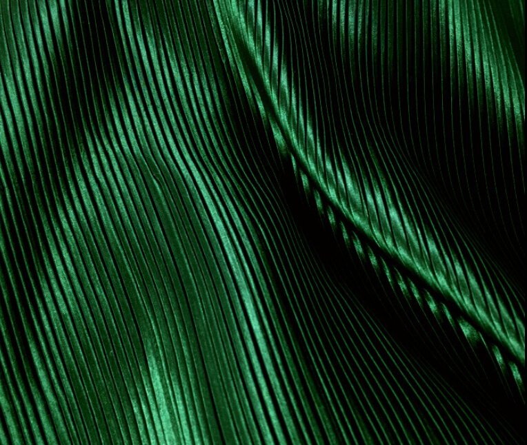 2 meters 150cm 59.05 width green fine stripe crumple accordion pleated faux silk satin fabric clothes dress skirt material MM16 free ship