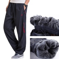 Grandwish Men S Winter Pants Big Size Wool Inside Winter Warm Men Thick Pants Plus Size