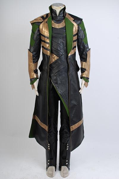 Marvel Thor Loki Cosplay Costume Full Men Adult