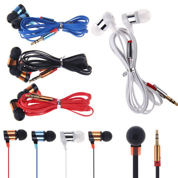 2016 Brand New  Stereo 3.5mm In Ear Headphone Earphone Headset Earbud for iPhone for Samsung PC