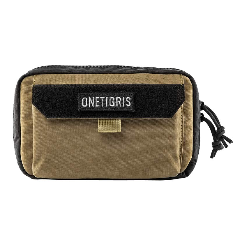 OneTigris Utility Molle Bag With Phone Pocket EMT/First Aid Pouch Tactical Horizontal MOLLE EDC Pouch Trauma First Aid Kits Bag