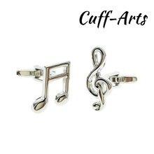 Cufflinks for Men Music Notes Cufflink Music Shirt  Gemelos Les Boutons De Manchette With Gift Box by Cuffarts C10239 bally music les