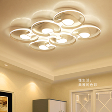 2017 Modern Led Ceiling Chandelier For Living Room Bedroom  Home Lighting Aluminum Chandelier Lighting Surface mounted lustre