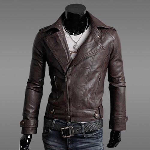 Aliexpress.com : Buy 2015 Men's slim male leather jackets mens ...