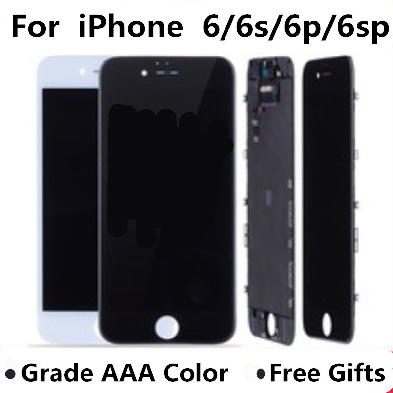 Image 2 - AAA For iPhone 6 LCD Screen Full Assembly For 6 Plus 6s Display Touch Screen Replacement Display No Dead Pixel-in Mobile Phone LCD Screens from Cellphones & Telecommunications