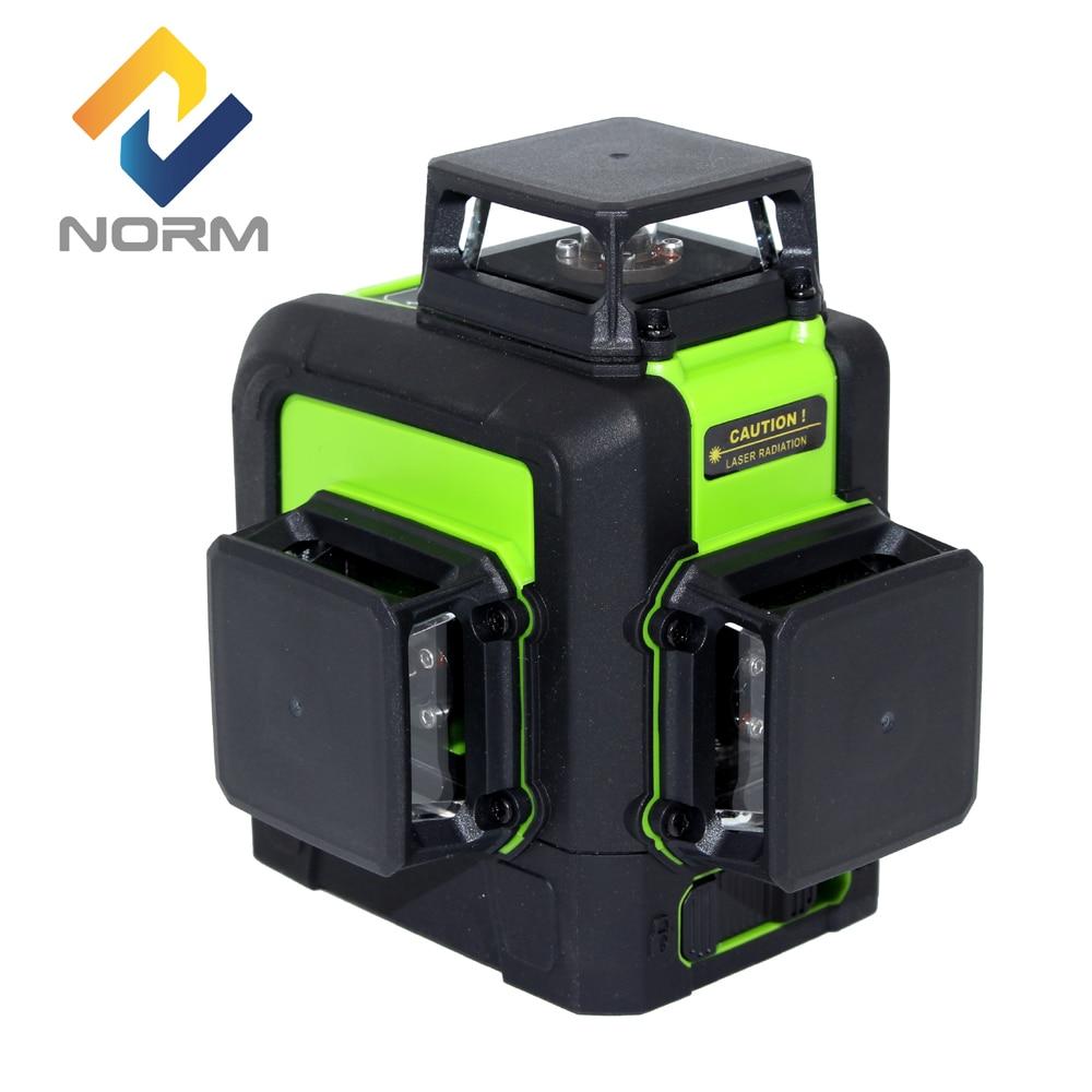 Norm 3D 12 Lines 8 Lines 5 Lines 2 Lines Laser Level Auto Self Leveling Laser