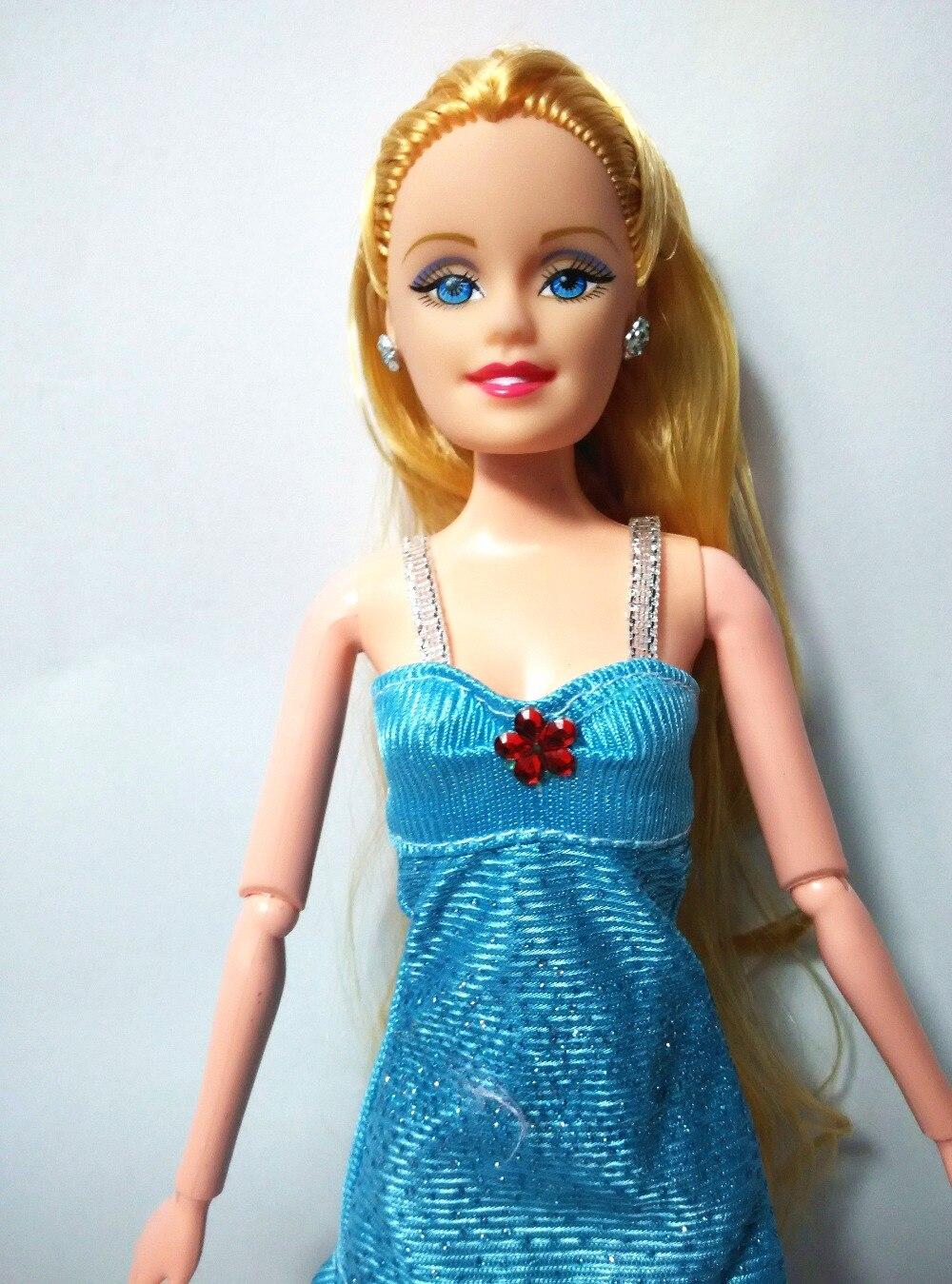Episode 2017 handmade für barbie puppen kleidung blau kleid das ...